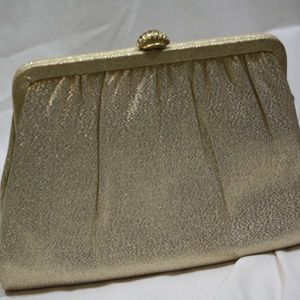 Handbags - Harry Levine Vintage 1950's Prom Evening Clutch